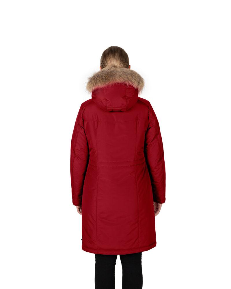 Куртка женская зима 3215Е/95 красный LimoLady — фото 2