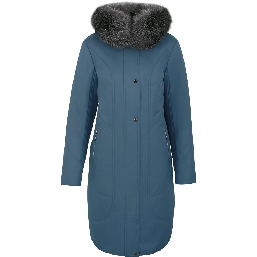 Куртка женская зима 3158F/100 аквамарин LimoLady — фото 1