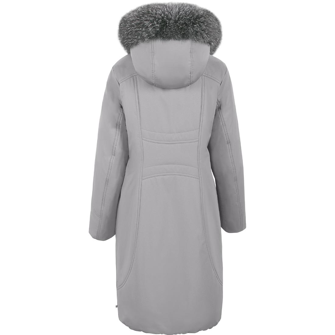 Куртка женская зима 3158F/100 светло-серый LimoLady — фото 2