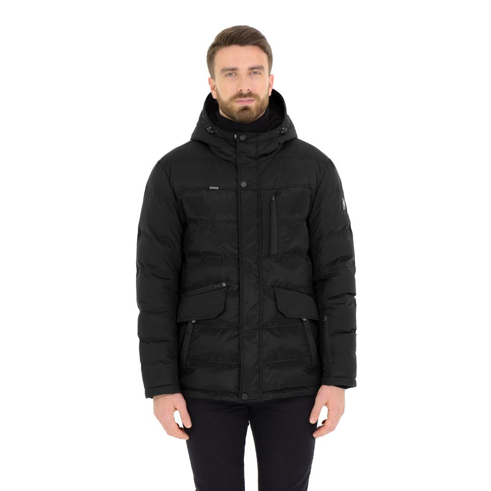 Куртка мужская (пуховик) зима 903БМ/78 черный AutoJack — фото 1