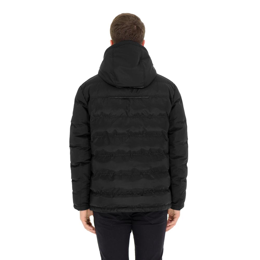 Куртка мужская (пуховик) зима 903БМ/78 черный AutoJack — фото 2