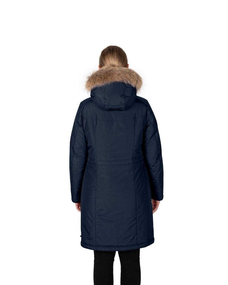 Куртка женская зима 3215Е/95 тёмно-синий LimoLady — фото 2