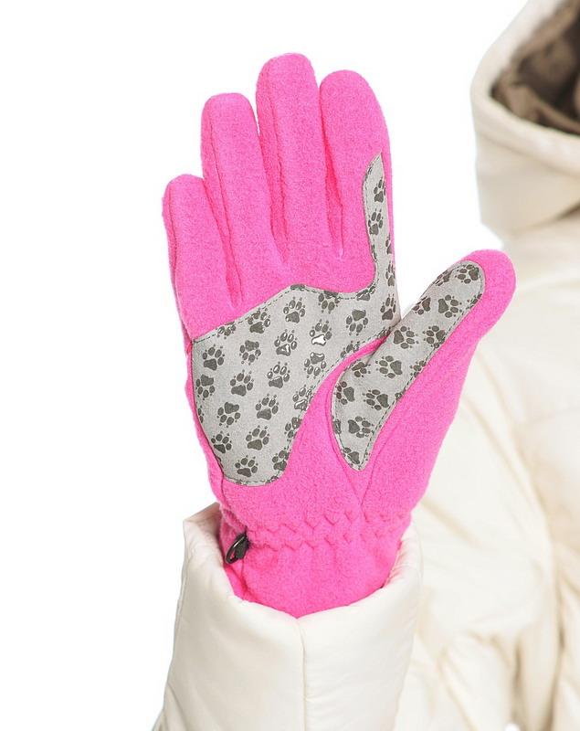 Перчатки NANUK PAW розовый Jack Wolfskin — фото 2