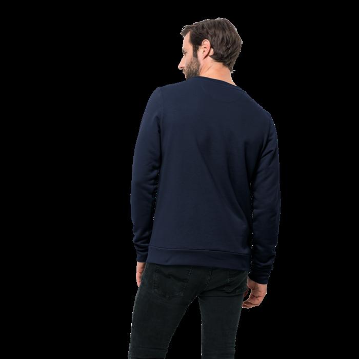 Пуловер мужской SLOGAN SWEATSHIRT Jack Wolfskin — фото 2