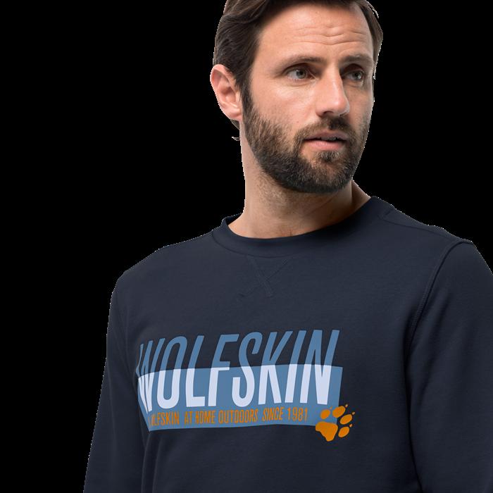 Пуловер мужской SLOGAN SWEATSHIRT Jack Wolfskin — фото 3