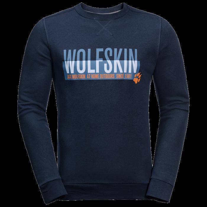 Пуловер мужской SLOGAN SWEATSHIRT Jack Wolfskin — фото 4