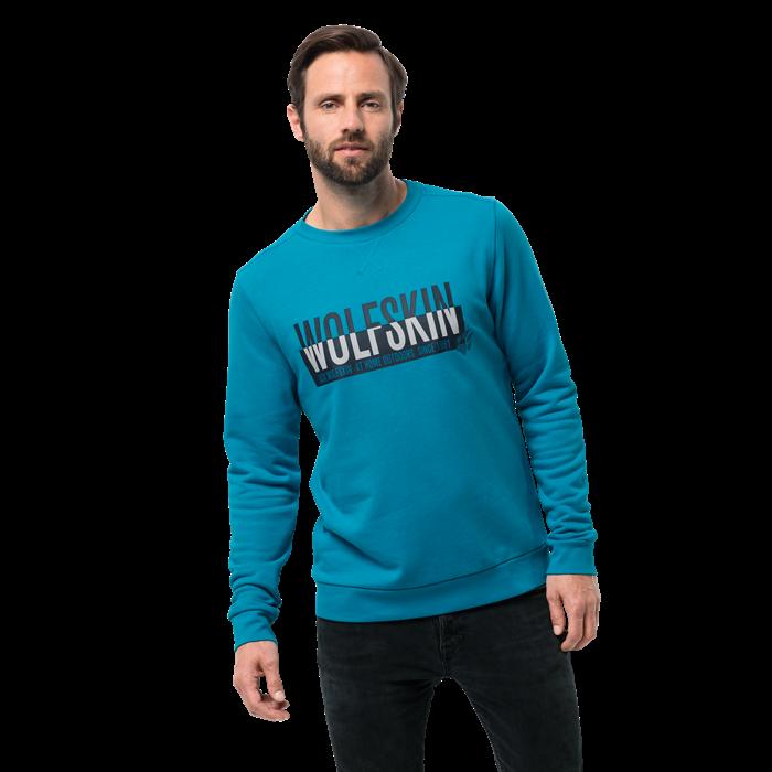 Пуловер мужской SLOGAN SWEATSHIRT Jack Wolfskin — фото 5