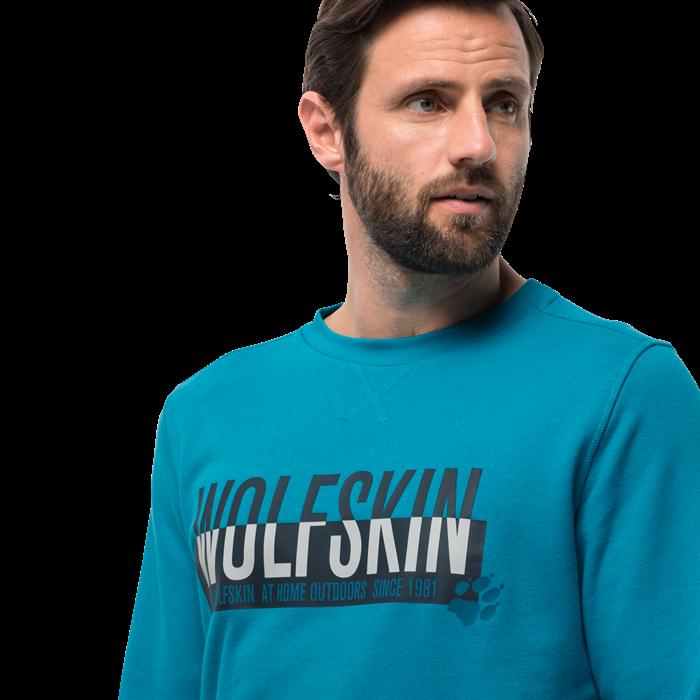 Пуловер мужской SLOGAN SWEATSHIRT Jack Wolfskin — фото 7