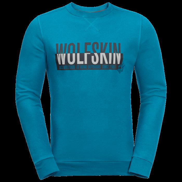 Пуловер мужской SLOGAN SWEATSHIRT Jack Wolfskin — фото 8