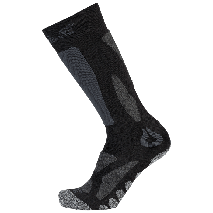 Носки MERINO SKI черный Jack Wolfskin — фото 1
