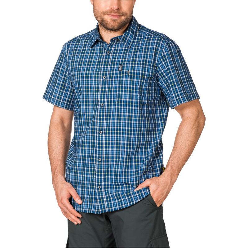 Рубашка мужская CROSSLEY SHORTSLEEVE Jack Wolfskin — фото 2
