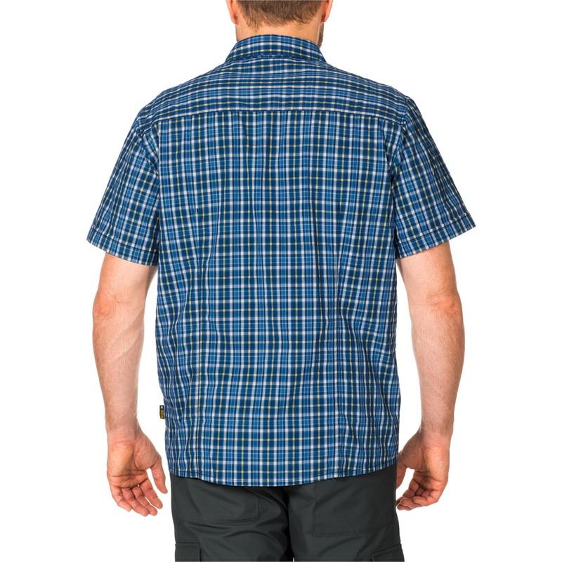 Рубашка мужская CROSSLEY SHORTSLEEVE Jack Wolfskin — фото 3