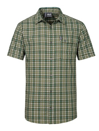 Рубашка мужская CROSSLEY SHORTSLEEVE Jack Wolfskin — фото 6