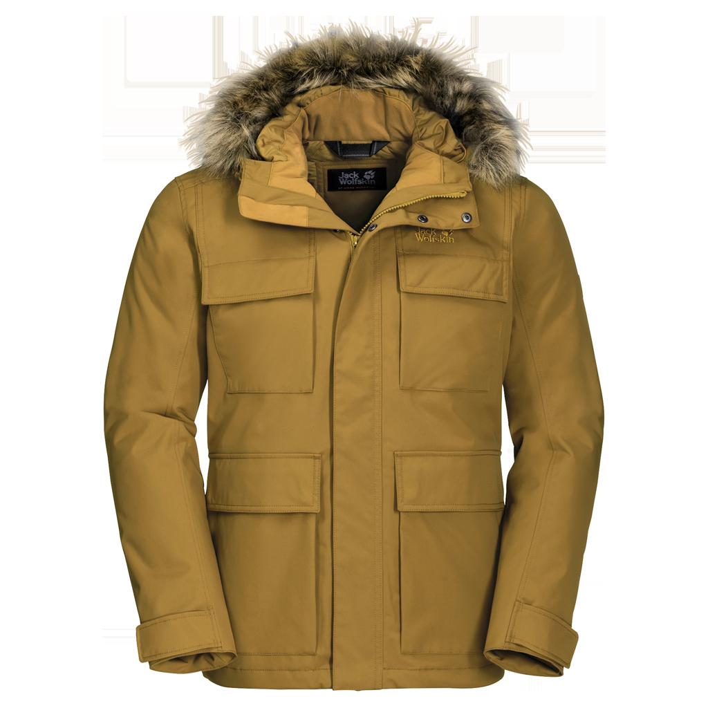 Куртка мужская POINT BARROW желтый Jack Wolfskin — фото 1