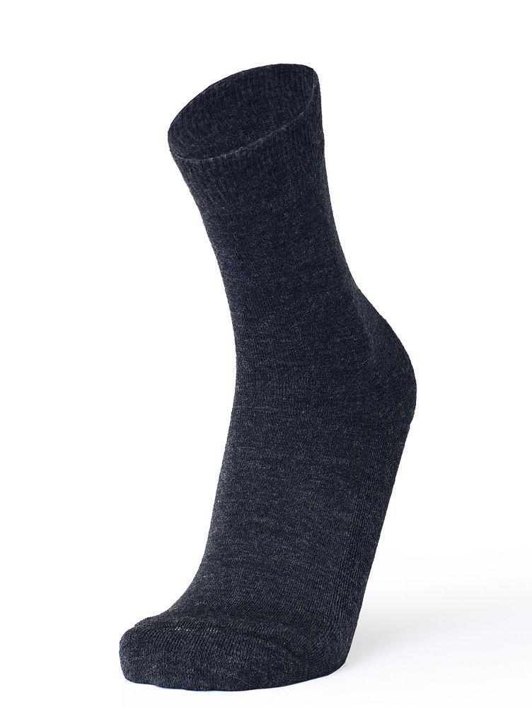 Носки мужские Soft Merino Wool Тёмно-серый меланж  — фото 3