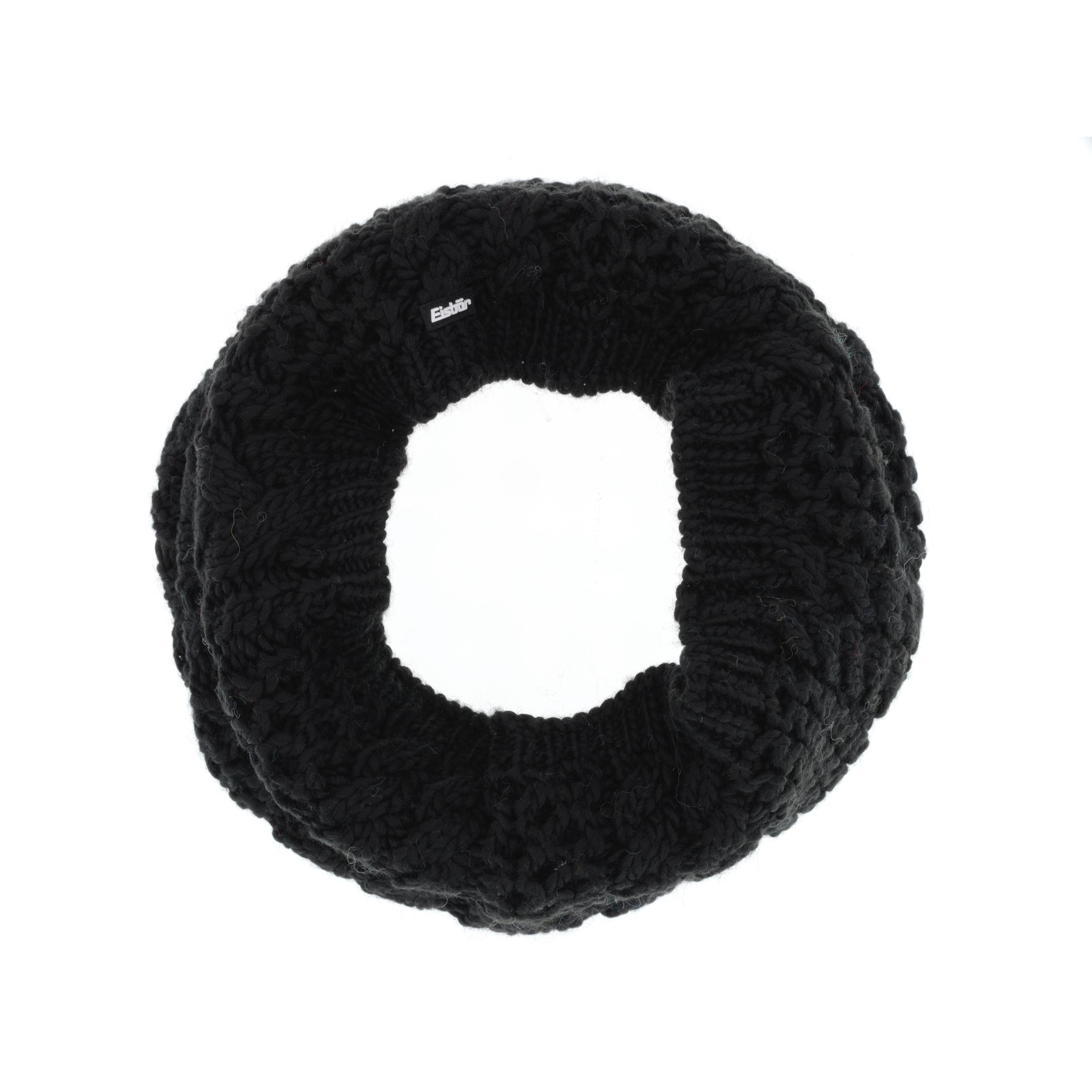 Шарф Alfa Loop Черный Eisbär — фото 1