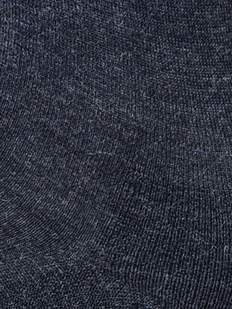Носки мужские Soft Merino Wool Тёмно-серый меланж  — фото 5