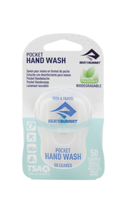 Сухое мыло Trek & Travel Pocket Hand Wash 50 Leaf Sea To Summit — фото 1