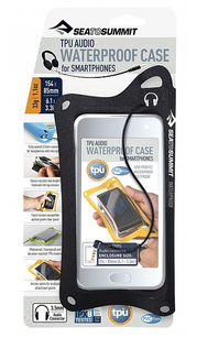 Гермочехол TPU Audio Waterproof Case for Smartphones (Black) Sea To Summit — фото 1