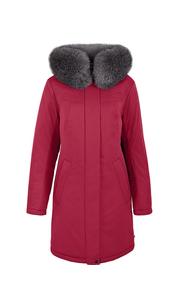 Куртка женская зима 3172F/90 рубиновый LimoLady — фото 1