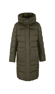 Куртка женская зима пуховик3131БМ/100 оливковый LimoLady — фото 1