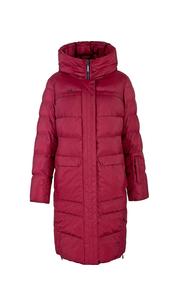 Куртка женская зима пуховик3131БМ красный LimoLady — фото 1
