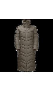 Куртка женская KYOTO LONG COAT зеленый Jack Wolfskin — фото 1