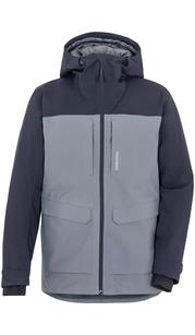 Куртка мужская DALE серый металлик с синим Didriksons — фото 1