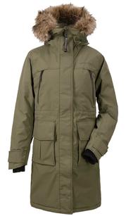 Куртка женская LEONA зеленый туман Didriksons — фото 1