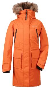 Куртка женская LEONA оранжевое пламя Didriksons — фото 1