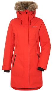 Куртка женская MEA красная лава Didriksons — фото 1