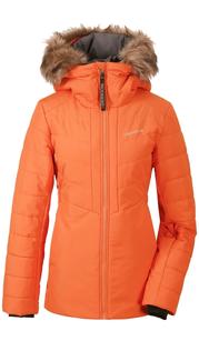 Куртка женская NANA оранжевое пламя Didriksons — фото 1