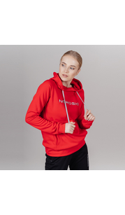 Толстовка женская NORDSKI Kangaroo Red NordSki — фото 1