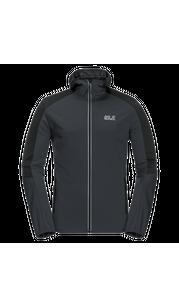 Куртка мужская GO HIKE SOFTSHELL серый Jack Wolfskin — фото 1