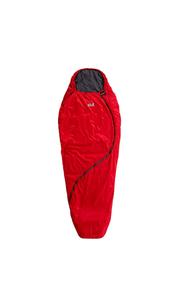 Спальный мешок SMOOZIP +3 WOMEN LEFT красный Jack Wolfskin — фото 1