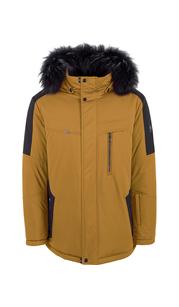 Куртка мужская зима 864Е/78 Горчичный/Черный AutoJack — фото 1