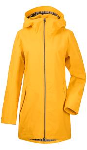 Куртка женская FOLKA Желтый шафран Didriksons — фото 1