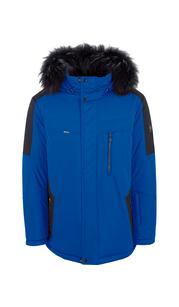 Куртка мужская зима 864Е/78 Яр.Син/Черн. AutoJack — фото 1