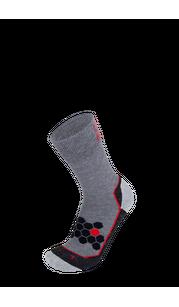Носки BRBL URSO 2 Mid grey/Black BRBL — фото 1