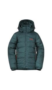 Куртка для мальчика Røros Down Youth Jkt, зеленый Bergans — фото 1
