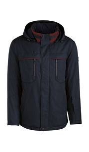 Куртка мужская дс 831/78 Т.Синий/Красный AutoJack — фото 1