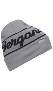 Шапка Bergans Logo Beanie, серый Bergans — фото 1