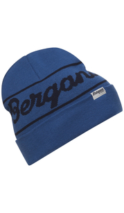 Шапка Bergans Logo Beanie, синий Bergans — фото 1