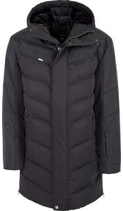 Куртка мужская (пуховик) зима 854БМ/95 черный AutoJack — фото 1