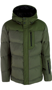 Куртка мужская (пуховик) зима 848БМ/72 оливковый AutoJack — фото 1