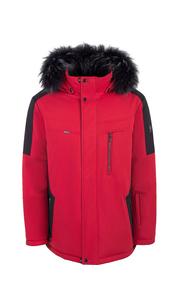 Куртка мужская зима 864Е/78 Красный/Черный AutoJack — фото 1