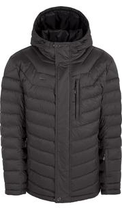Куртка мужская (пуховик) зима 862БМ/78 т.серый/черный AutoJack — фото 1