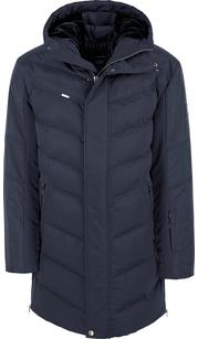 Куртка мужская (пуховик) зима 854БМ/95 темно-синий AutoJack — фото 1