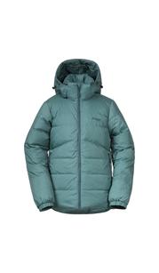 Куртка для девочки Røros Down Youth Girl Jkt, зеленый Bergans — фото 1