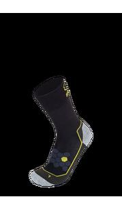 Носки BRBL URSO 2 Black/Anthra/Yellow BRBL — фото 1